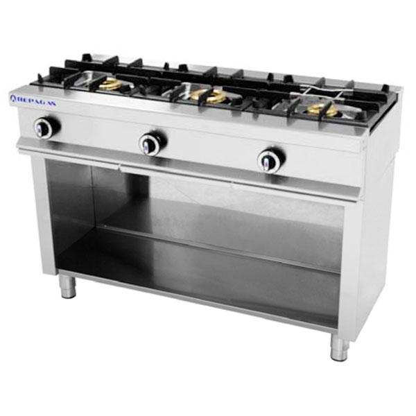 Cocina 3 Fuegos A Gas Sin Horno Repagas