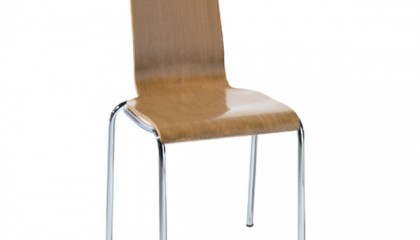 SILLA MADERA+METAL SERIE METAL (GAYVALL)
