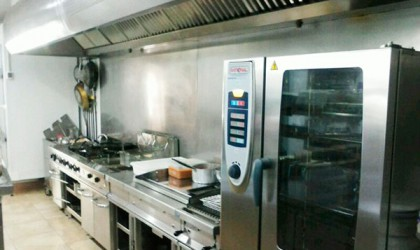 Montaje cocina restaurante